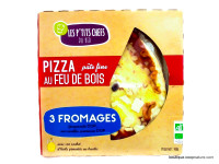 LES P'TITS CHEFS Pizza 3 fromages 400g