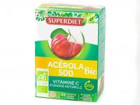 Acérola 500 Vitamine C Bio 24 Comprimés