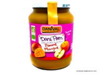 DANIVAL Dani'Pom pomme mangue 700g