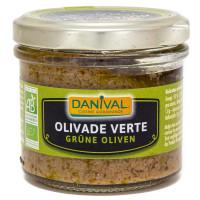 Spécialité à Tartiner à Base d'Olives Vertes Bio 100g