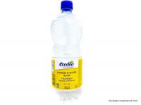 ECODOO Vinaigre d'alcool blanc 12%, 1L
