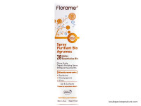 FLORAME Spray purifiant aux agrumes Bio 180ml