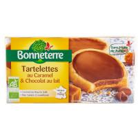 Tartelettes Caramel Beurre Salé et Chocolat au Lait - 125g