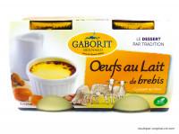 GABORIT Oeufs au lait de brebis 2x125g