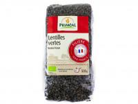 PRIMEAL Lentilles vertes 500g