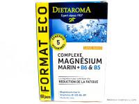 DIETAROMA Complexe Magnésium marin + B6 & B5 par 120 capsules