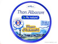 PHARE D'ECKMÜHL Thon albacore au naturel, à teneur en sel réduite 160g