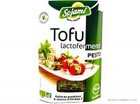 SOJAMI Tofu lacto-fermenté au pesto 2x100g