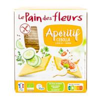 PAIN DES FLEURS Tartines craquantes oignon 150g