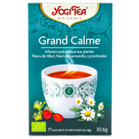 Yogi Tea - Infusion Ayurvédique Grand Calme - 17 sachets Bio