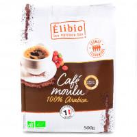 Café moulu 100% Arabica 500g Bio