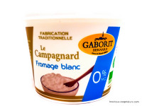 GABORIT Le Campagnard fromage blanc 0% 500g
