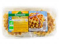 Bonneterre - Gaufres pur beurre recette artisanale 160g - Bio