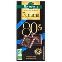 BONNETERRE Chocolat noir du Panama 80% par 80g