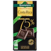 BONNETERRE Chocolat noir du Costa Rica 75% par 80g