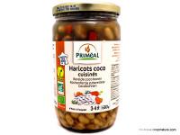PRIMEAL Haricots coco cuisinés 680g