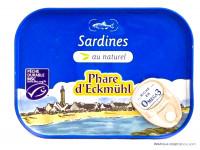 PHARE D'ECKMÜHL Sardines au naturel 135g