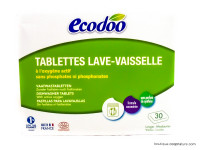 ECODOO Tablettes lave-vaisselle x30, 600g