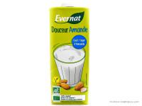 EVERNAT Boisson douceur d'amande au calcium 1L