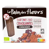 PAIN DES FLEURS Tartines craquantes au cacao 160g