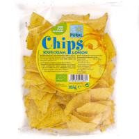 Chips Maïs Crème et Onion Bio 125g