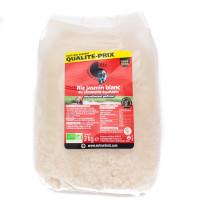 AUTOUR DU RIZ Riz blanc naturellement au jasmin 2kg