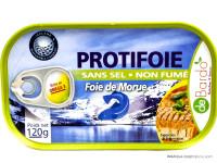 DEBARDO Protifoie foie de morue 120g