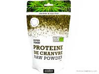 PURASANA Protéine de chanvre crue en poudre 200g