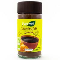 Evernat - Chicorée et Café soluble instantanée 100g - Bio