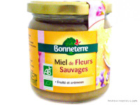 BONNETERRE Miel de fleurs sauvages 500g