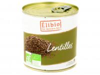 ÉLIBIO Lentilles en conserve 400g