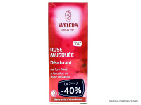 WELEDA Déodorant spray rose musquée lot de 2x100ml
