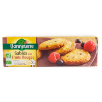 BONNETERRE Sablés aux fruits rouges 150g