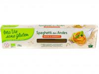 MA VIE SANS GLUTEN Spaghettis des Andes sans gluten 250g