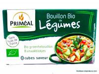 PRIMÉAL Bouillon de légumes en cubes 72g