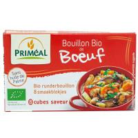 Bouillon Cube Déshydraté de Boeuf Bio 80g