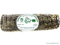 Bûche de Chèvre Cendrée Salée Bio 250g