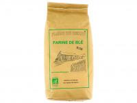 FLEUR DE BERRY Farine de blé bise T80 Bio 1kg