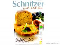 SCHNITZER Pain Rustico sans gluten 500g
