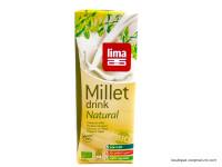 LIMA Boisson au millet naturel sans sucres ajoutés 1L