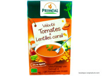 PRIMÉAL Velouté de tomates lentilles corail 1L