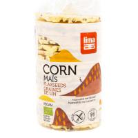 LIMA Galettes de maïs aux graines de lin 150g