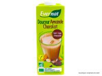 EVERNAT Boisson douceur d'amande au chocolat 1L
