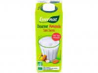 EVERNAT Boisson douceur amande sans sucres ajoutés 1L