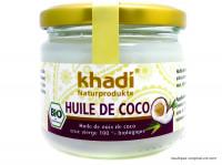 KHADI Huile de coco cheveux 250ml