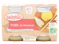 Pots poire de Provence 2x130g Bio