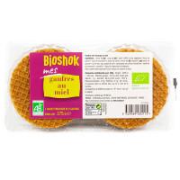 BIOSHOK Gaufres au miel 175g