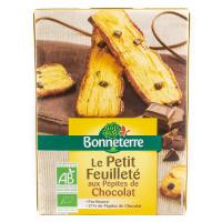 Biscuits Petits Feuilletés aux Pépites de Chocolat - 120g