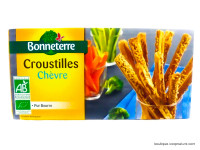 BONNETERRE Croustilles chèvre 100g