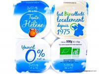 TANTE HÉLÈNE Yaourts 0% 4x125g